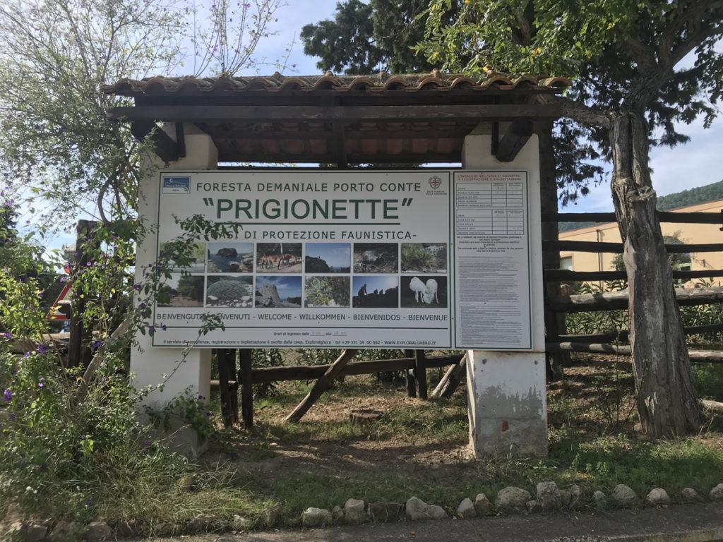 Escursione Le Prigionette Alghero
