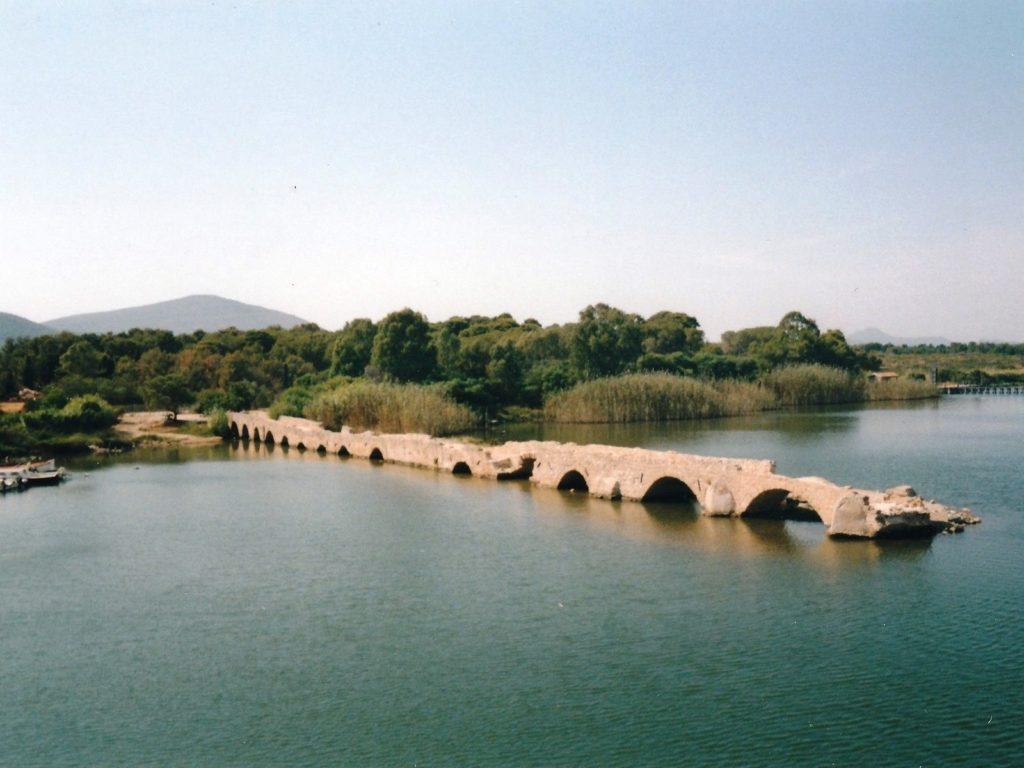 Ponte Romano - Laguna del Calich