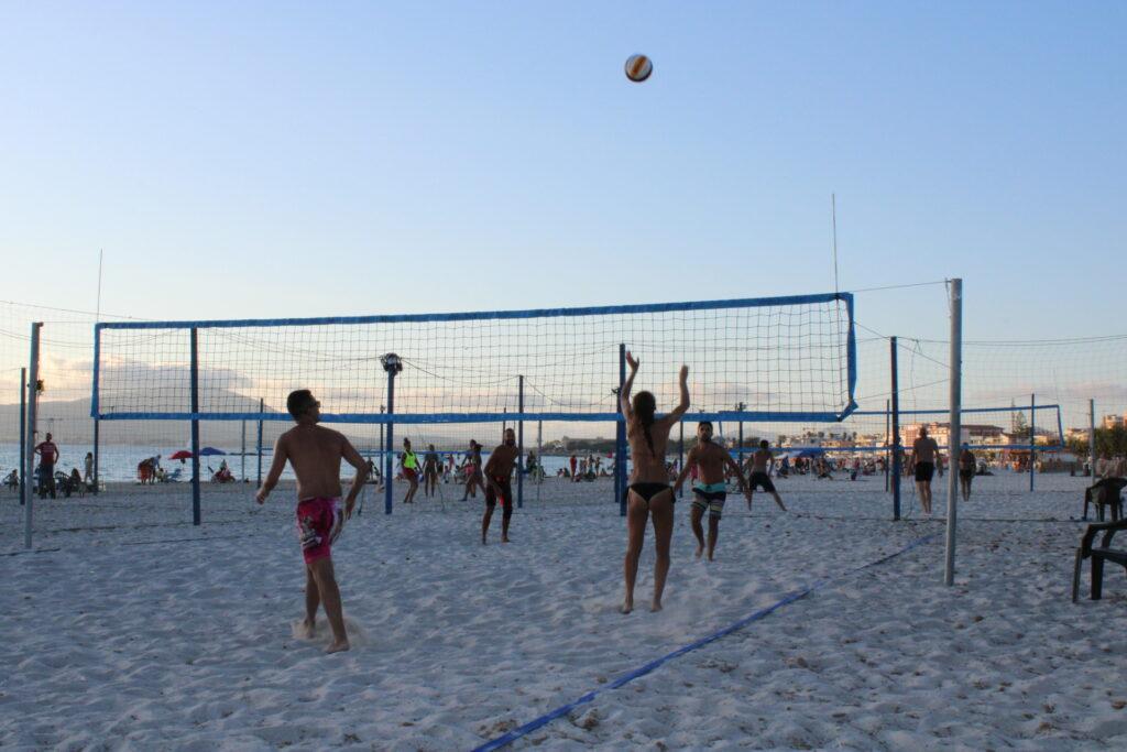Beach Volley Lido Alghero ©bluAlghero