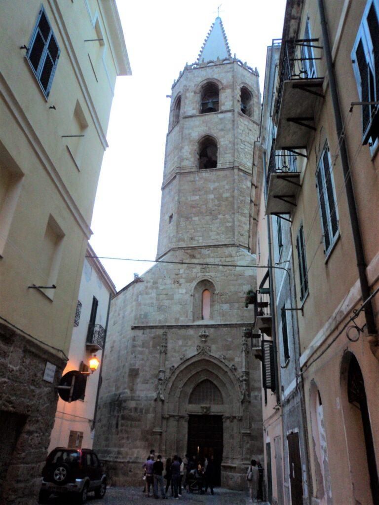 Campanile di Santa Maria Alghero ©bluAlghero