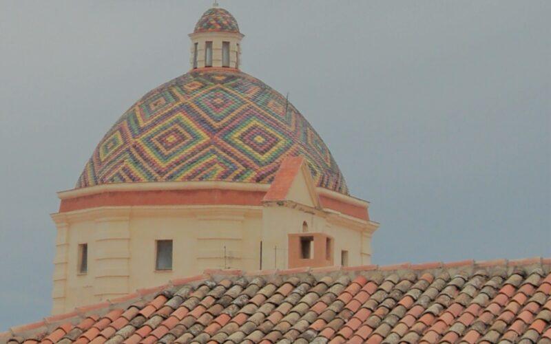 Centro Storico Alghero Cupola San Michele